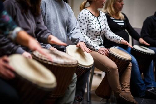drumming image