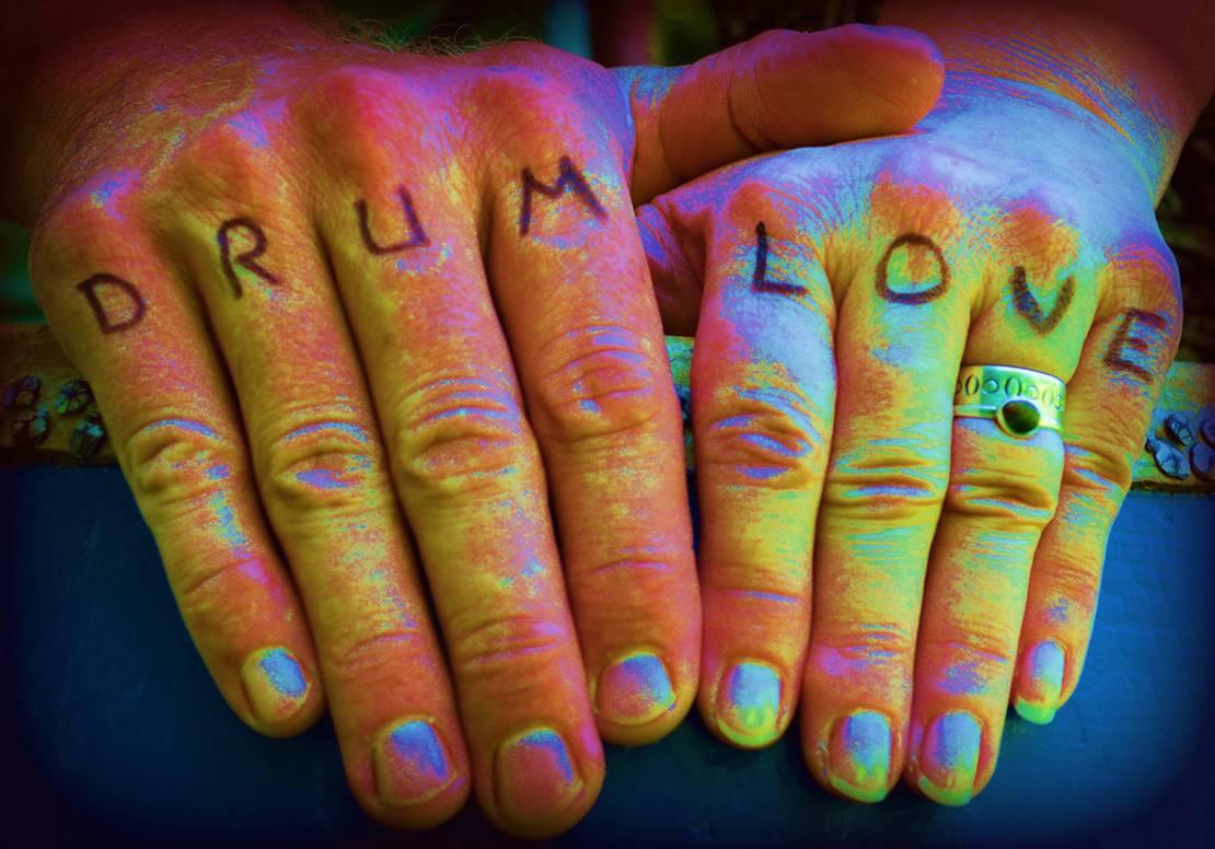 psychedelic drum love
